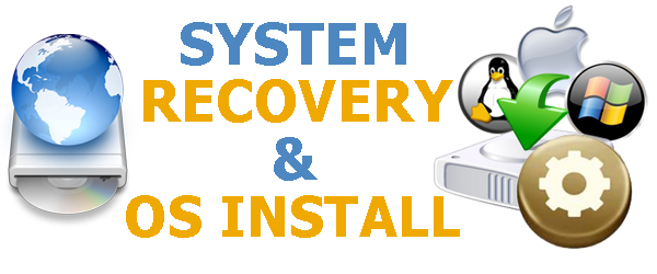 system recovery & os installation